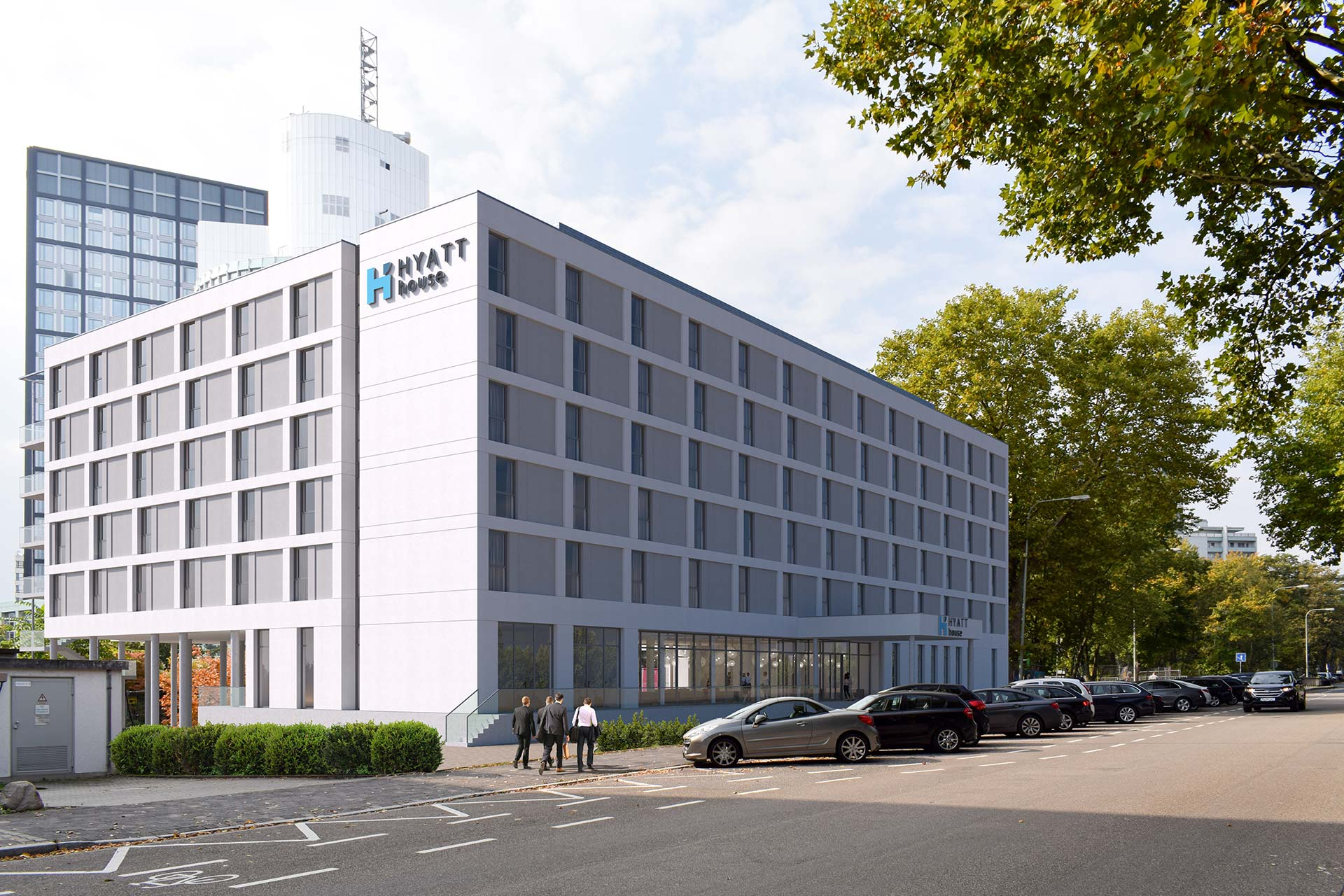 Hotel Hyatt House in Eschborn