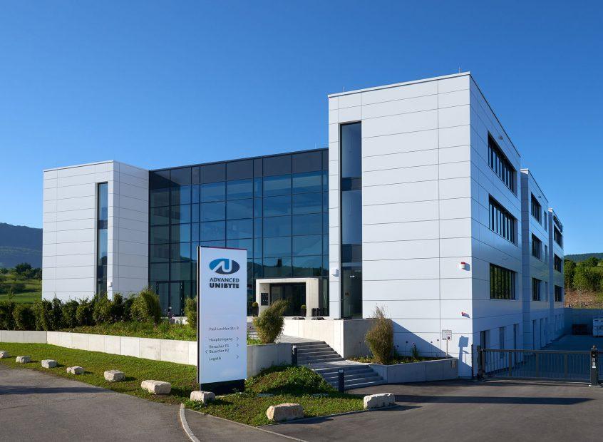 Verwaltungsgebäude Advanced UniByte GmbH