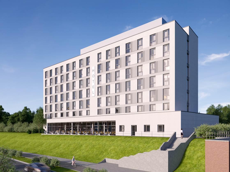 Super 8 Hotel mit 156 Zimmern kurz vor Fertigstellung