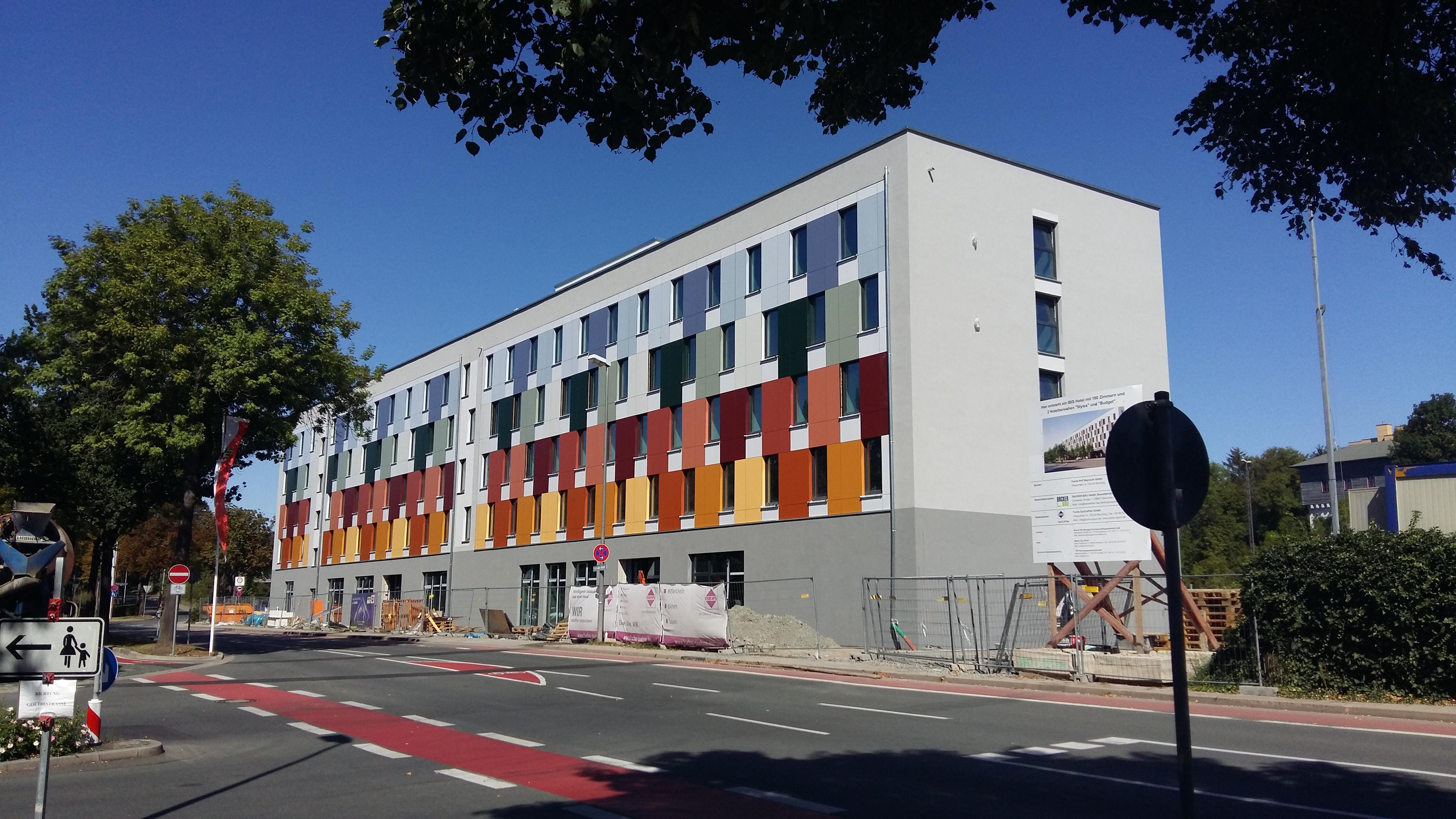 Hotel IBIS Budget & IBIS Styles in Bayreuth – Baufortschritt