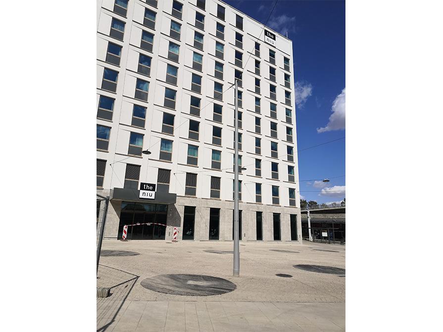 Niu Ridge Hotel Halle – Baufortschritt