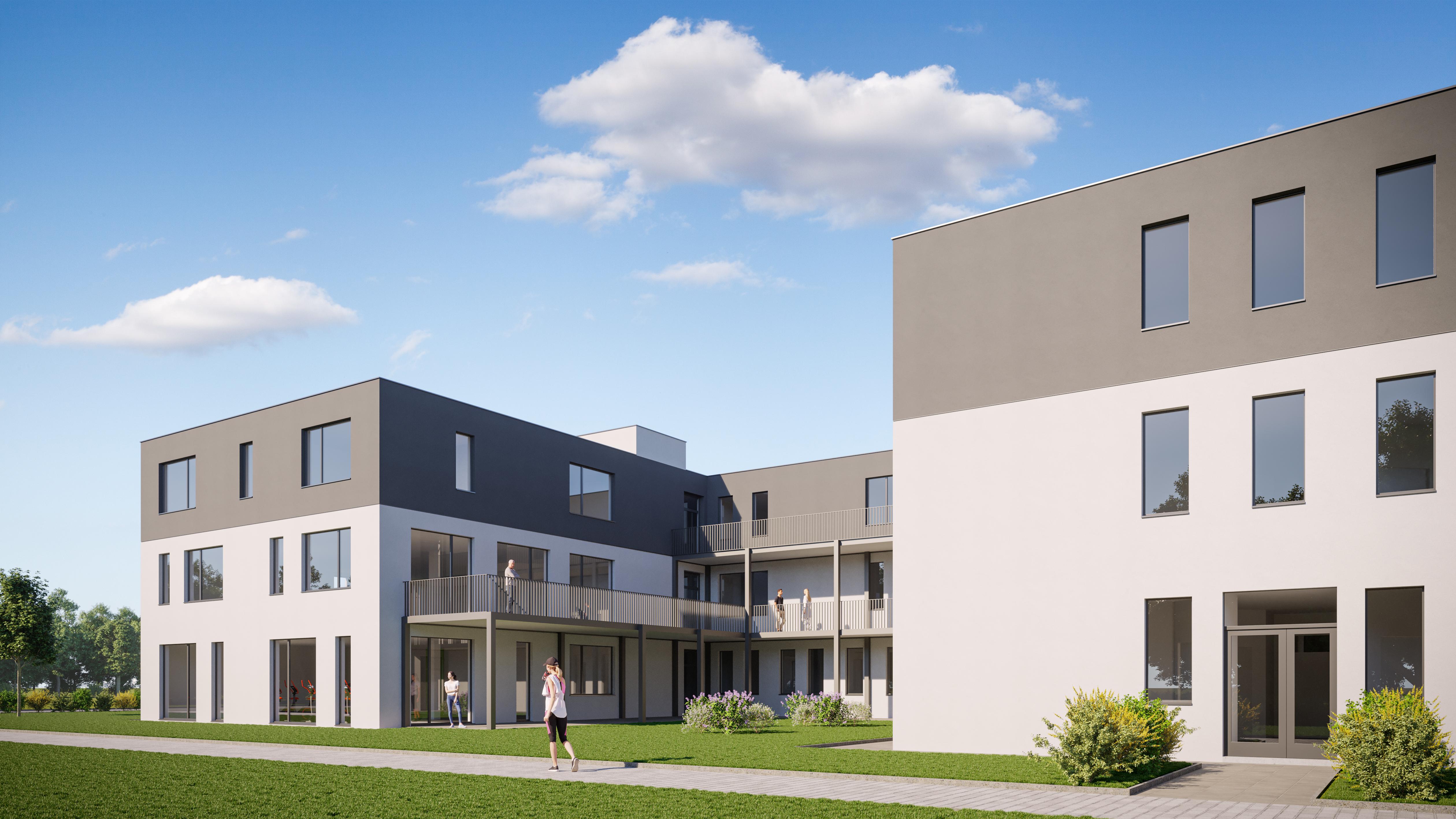 Neubau Geriatrische Rehaklinik in Bruckmühl