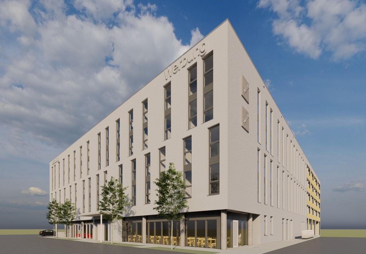 Baubeginn Hotelneubau in Singen