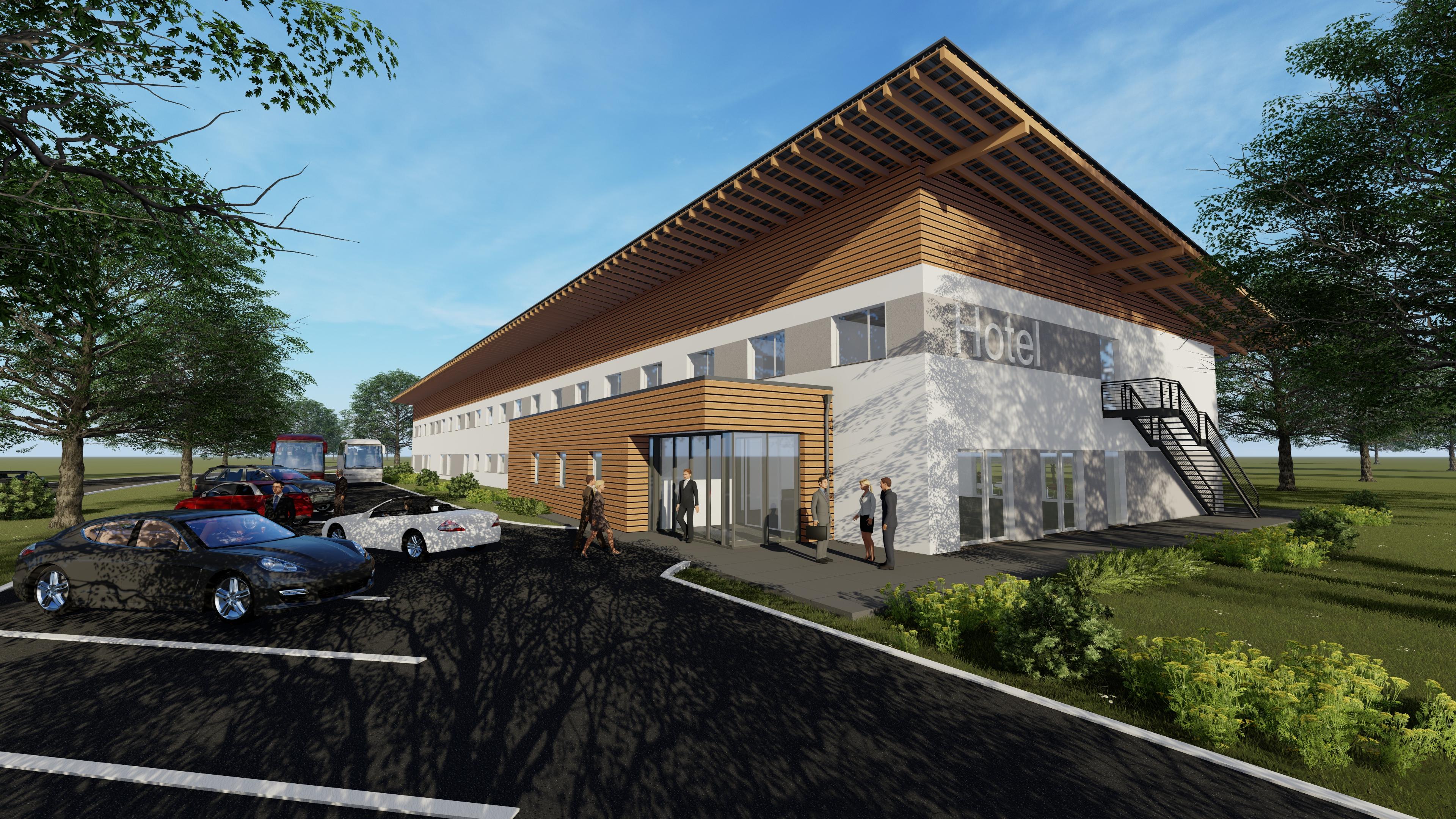 Hotelneubau Sonnenlandpark in Lichtenau – Baufortschritt